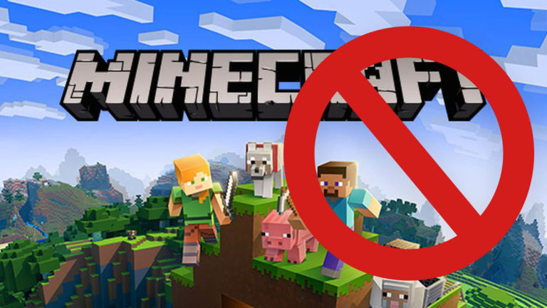 Minecraft Shutting Down Title Image
