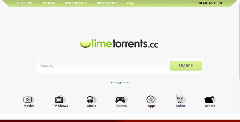 Lime Torrents - Best torrent for hollywood movies