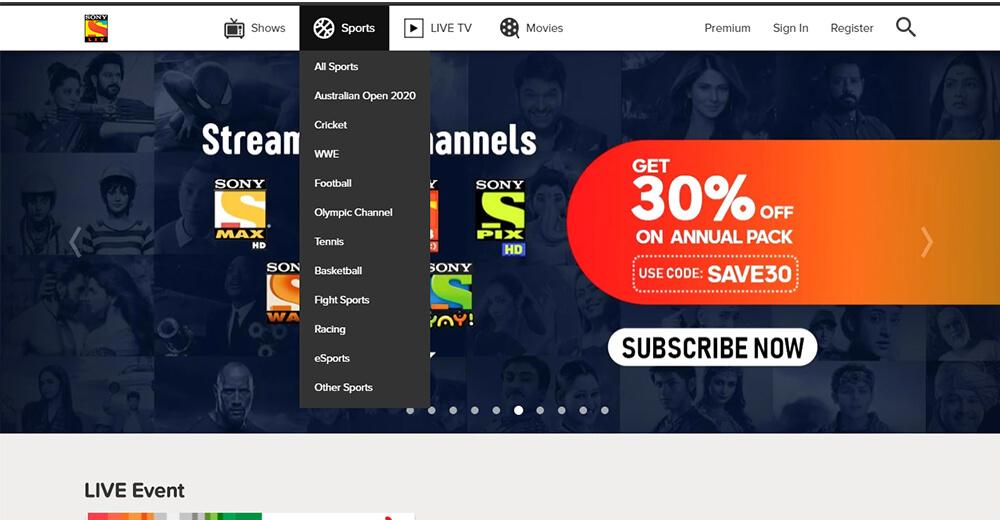 SongLiv - Watch Free Sports Online