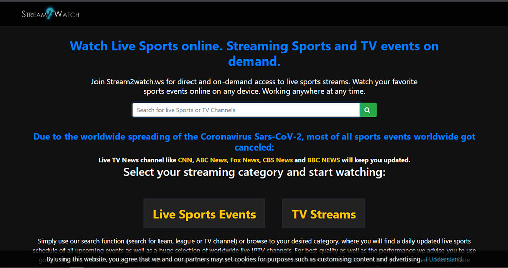Stream2Watch - Watch Free Sports Online