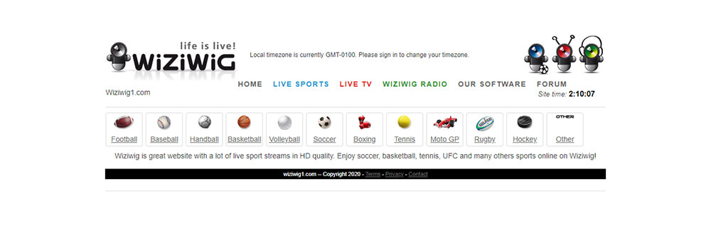 WiziWig - Watch Free Sports Online
