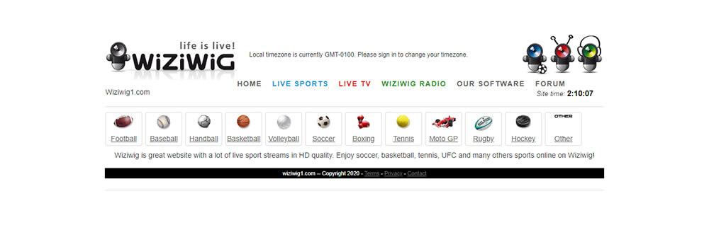 WiziWig - Watch Free Sports Online